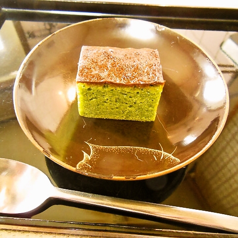 Green tea brownie